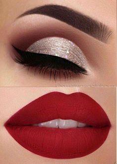 Makeup Eye Looks, Beautiful Eye Makeup, Perfect Makeup, Skin Makeup, Eyeshadow Makeup, Makeup Brushes, Blue Makeup, Makeup Remover, Makeup Monolid