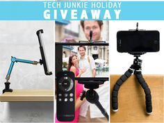 Tech Junkie Holiday Sweepstakes Use this link for your chance to win:  http://virl.io/fbTgqWX GOOD LUCK!