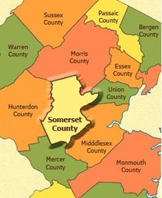 Somerset County New Jersey Town Listings.  Homes for Sale, Land Lots, Rentals, Commercial.  http://www.njestates.net/nj/counties/somerset