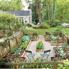 36 Ideas backyard garden design layout chicken coops for 2019 – Modern Potager Garden, Veg Garden, Vegetable Garden Design, Garden Types, Garden Cottage, Home And Garden, Pea Gravel Garden, Garden Train, Gravel Pathway