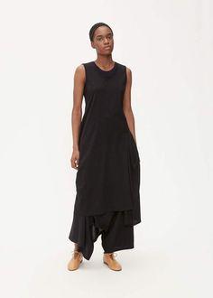 7eebda318454e2 Yohji Yamamoto Y s by Asymmetric Drape Dress