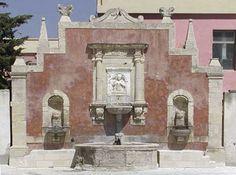 Militello in val di Catania, Fontana della ninfa Zizza.