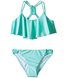 Seafolly Kids Pool Party Frill Tankini (Little Kids/Big Kids)