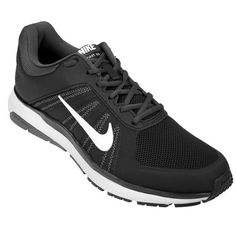 new style dbfc7 bd7e2 Zapatillas Nike Dart 12 Msl - Negro+Blanco
