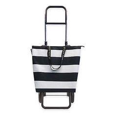 Rolser Lido Logic Shopping Cart BlackWhite
