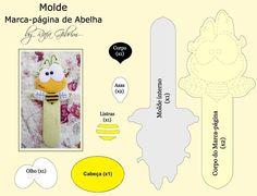 Mãe & Filha Artesanatos: Marcador de Página_By Rafa Gibrim