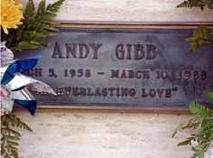Buried at Forest Lawn Cemetery in the Hollywood Hills, LA.