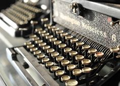 #Technology has come a long way and, since then, #typewriters have become beautiful #antiques! | http://attheoffice.com