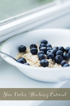 The slow cooker ensures your overnight steel cut oats are never a cold jar of mush. This oatmeal stews while you sleep, so you wake to warm spoonfuls of yum.