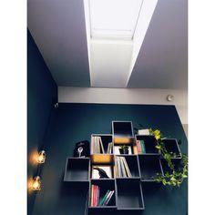 Ikea Eket shelves, jotun oslo Ikea Eket, Oslo, Desktop Screenshot, Sweet Home, Shelves, Shelving, House Beautiful, Shelf, Open Shelving