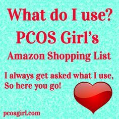 I put a list together of #PCOS stuff I use to help with my symptoms. I get asked a lot what supplements I use or what workouts I do. I'd love to hear what you use and love that helps with your symptoms!!!