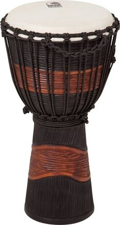 Toca's Street Series djembe makes a wonderful addition for any drummer who's looking to expand their musical creativity. This budget-friendly djembe is made of mahogany wood and is equipped with a hand selected head.