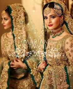 Aiman always be nice Bridal Mehndi Dresses, Pakistani Bridal Makeup, Pakistani Wedding Outfits, Bridal Dress Design, Wedding Dresses For Girls, Bridal Outfits, Pakistani Dresses, Bridal Lehenga, Bridal Style