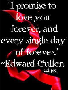 Edward in Eclipse Twilight Film, Twilight Quotes, Twilight Edward, Twilight New Moon, Twilight Pictures, Biss Zum Abendrot, Edward Cullen Quotes, Love You Forever, Robert Pattinson