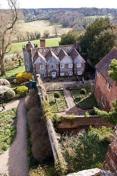 The Dower House from the Greys Court tower