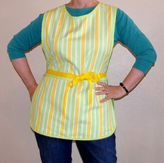 Tie One On Lemon Lime Adult Cobbler by SusiesTieOneOnAprons, $28.00
