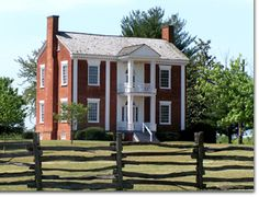"""Chief Vann house, Chatsworth GA, Home of James Vann, built in 1804. Vann was one of the wealthiest Cherokee in the early nineteenth century. Vann was bannished from this home as a result of the Indian Removal Act but was """"compensated 26,979.25 for his losses."""