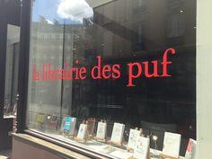 La LIBRAIRIE DES PUF. La librairie ré-inventée. Mon expérience en immersion.