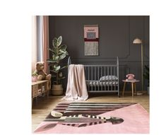 This rug is a statement. Geometric portrait of zebra in warm pink and brown tones will be a definite highlight of your kid's interior. Soft and thick to keep your child's tooshie nice and warm :) Best Weave, Childrens Rugs, Kids Decor, Home Decor, Your Child, Really Cool Stuff, Highlight, Toddler Bed, Kids Rugs