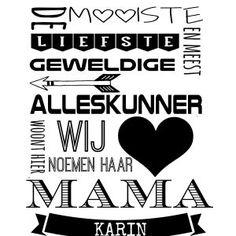 Voor alle allerliefste moeders!