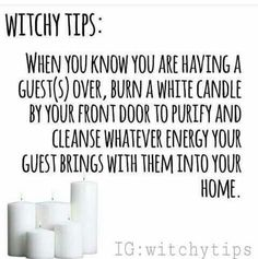 Witchy Tips : Candles Wiccan Spells, Candle Spells, Candle Magic, Wiccan Beliefs, Wiccan Spell Book, Wiccan Magic, Mantra, Cv Inspiration, Baby Witch