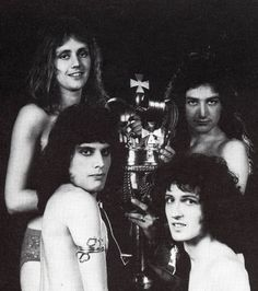 """brianharoldmay6539: """"Queen nude session,1973 Photos by Mick Rock """""""