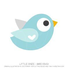 Little Ones - Bird {SVG}