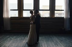 Minimal Union/Pine Wedding