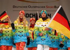 sochi german uniforms   German Sochi Olympic Uniforms: Pro-Gay Protest Or Just A 'Colorful ...