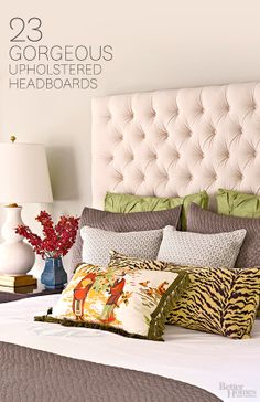 Upholstered Headboards We Love