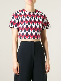 Dsquared2 Blusa Cropped - Dell'oglio - Farfetch.com