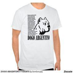 DOGO ARGENTINO T-SHIRTS