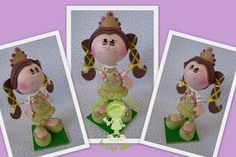 Amanda Molds: Molds Fofuchas Princesses and (on the web) WITH INSTRUCTIONS
