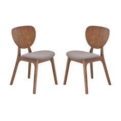 Our Evie Dining Chair has the stylish lines and streamlined silhouette of a mid-century chair, but with its gorgeous linen upholstery and rubberwood construction, this piece is fully contemporary and b...  Find the Evie Dining Chair in Slate - Set of 2, as seen in the Accent Chairs Collection at http://dotandbo.com/category/furniture/chairs/accent-chairs?utm_source=pinterest&utm_medium=organic&db_sku=104912