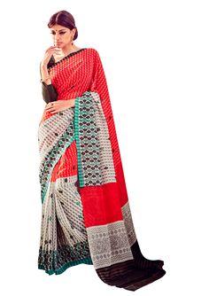 D No 20585 RICH FEEL Fancy Designer Saree - http://member.bulkmart.in/product/d-no-20585-rich-feel-fancy-designer-saree/