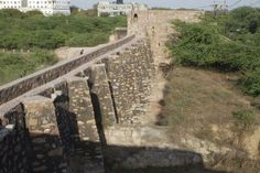 A medieval dam in the heart of South Delhi?  Satpula, built by Mohammad bin Tughlaq.   Click here to read more:  http://madhulikaliddle.com/updates/satpula-seven-piers-for-water/