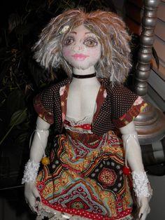 Art Doll Cloth/Fabric Handmade OOAK by SherisShoppe on Etsy, $175.00