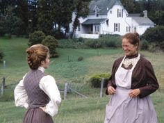 Wouldn't it be nice to have someone love you this much?  Anne Shirley and Marilla Cuthbert,