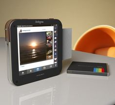 instagram camera. All the instagram options but prints like a polaroid.