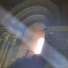 Catedral de Sigüenza; la luz...