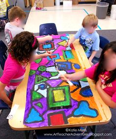 Boy, the end of the school year comes with a crazy schedule. My primary students rarely miss art class on Tuesdays, but the Friday and Mond...