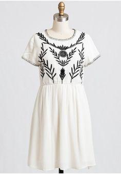 Summer Wind Embroidered Dress | Modern Vintage Dresses | Modern Vintage Clothing | Ruche | Ruche