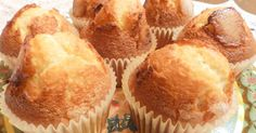 Fabulosa receta para Magdalenas sin gluten. cuinadelamare.com