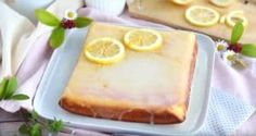 Le brownie au citron : l'instant fraîcheur ! - La Recette Brownie, Lemon Lime, Camembert Cheese, Biscuits, Cheesecake, Desserts, Wellness, Orange, Christmas