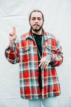 """$9.99 AUD - Mx27732 Post Malone - American Rapper Hip Hop Music Star 14""""X21"""" Poster #ebay #Collectibles"""