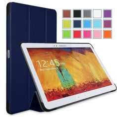 MoKo Samsung Galaxy Note 10.1 Case Ultra Slim Lightweight Smart-shell Stand Cover (Indigo)