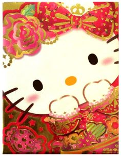 c657e4812f Sanrio Hello Kitty Gilded Roses Envelope Set