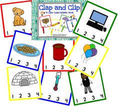 Clap and Clip the syllables