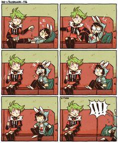 Kid n Teenagers Comics - 116 - Wattpad Cute Comics, Funny Comics, Doremi Anime, Rage Comic, Z Toon, 4 Panel Life, Funny Memes, Hilarious, Jokes