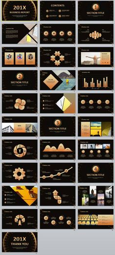 Business case study powerpoint template slide design template and business infographic 31 best charts business report powerpoint template powerpoint templates pres accmission Images